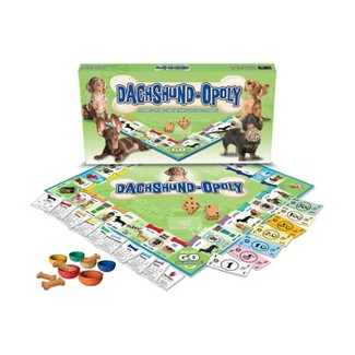 Late For The Sky Dachshund-Opoly Board Game : Target
