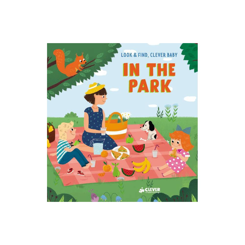 In The Park Look Find Clever Baby Board Book