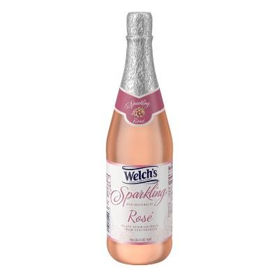 Welch's Sparkling Rosé - 25.4 fl oz Glass Bottle