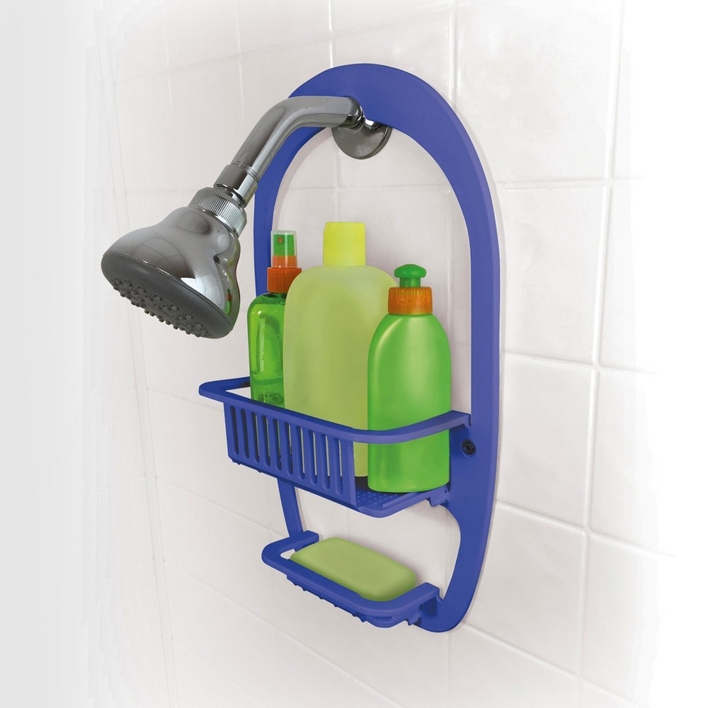 Image of Shower Caddy Blue - BE U, Shower and Bath Caddies