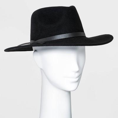 Women's Wide Brim Felt Fedora Hat - Universal Thread™
