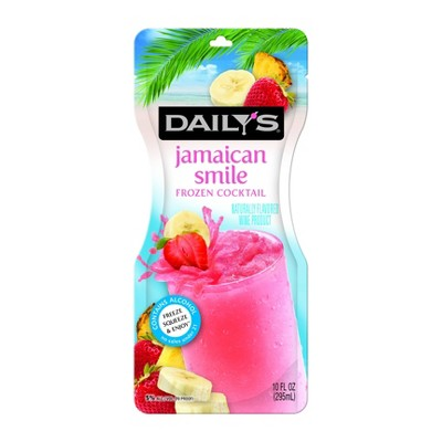 Daily's Jamaican Smile Frozen Cocktail - 10 fl oz Pouch