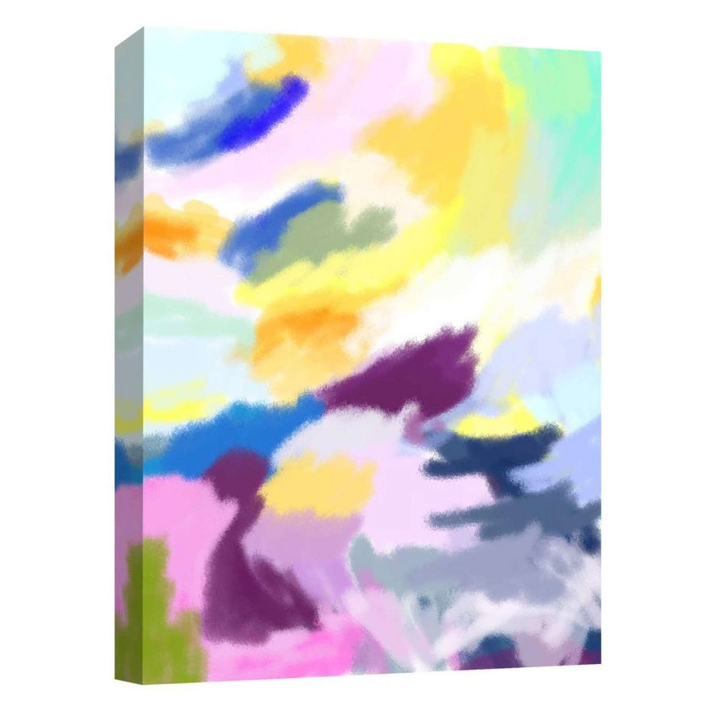 Color Mix II Decorative Canvas Wall Art 11