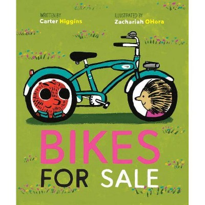 Bikes for Sale (Story Books for Kids, Books about Friendship, Preschool Picture Books) - by  Carter Higgins (Hardcover)