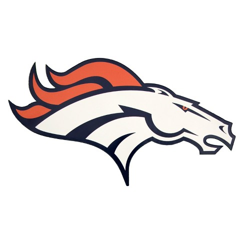 Nfl Denver Broncos Small Outdoor Logo Decal Target