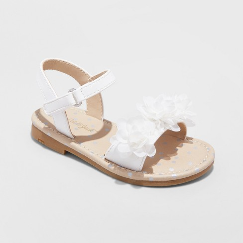 Toddler Girls Daralee Flower Sandals Cat Jack Target