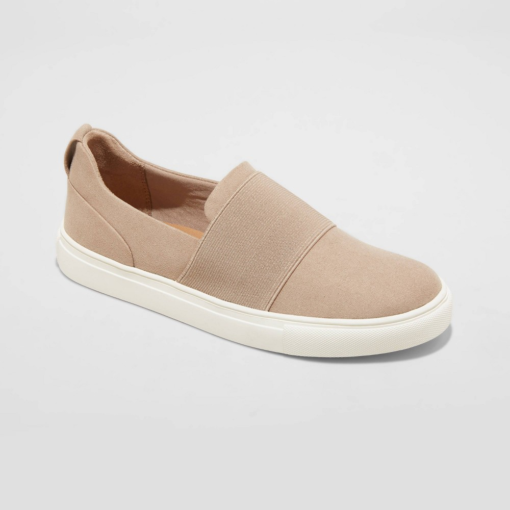 Women 39 S Marisol Apparel Sneakers A New Day 8482 Taupe 9 5