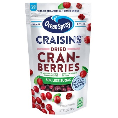Ocean Spray Reduced Sugar Craisins - 5oz
