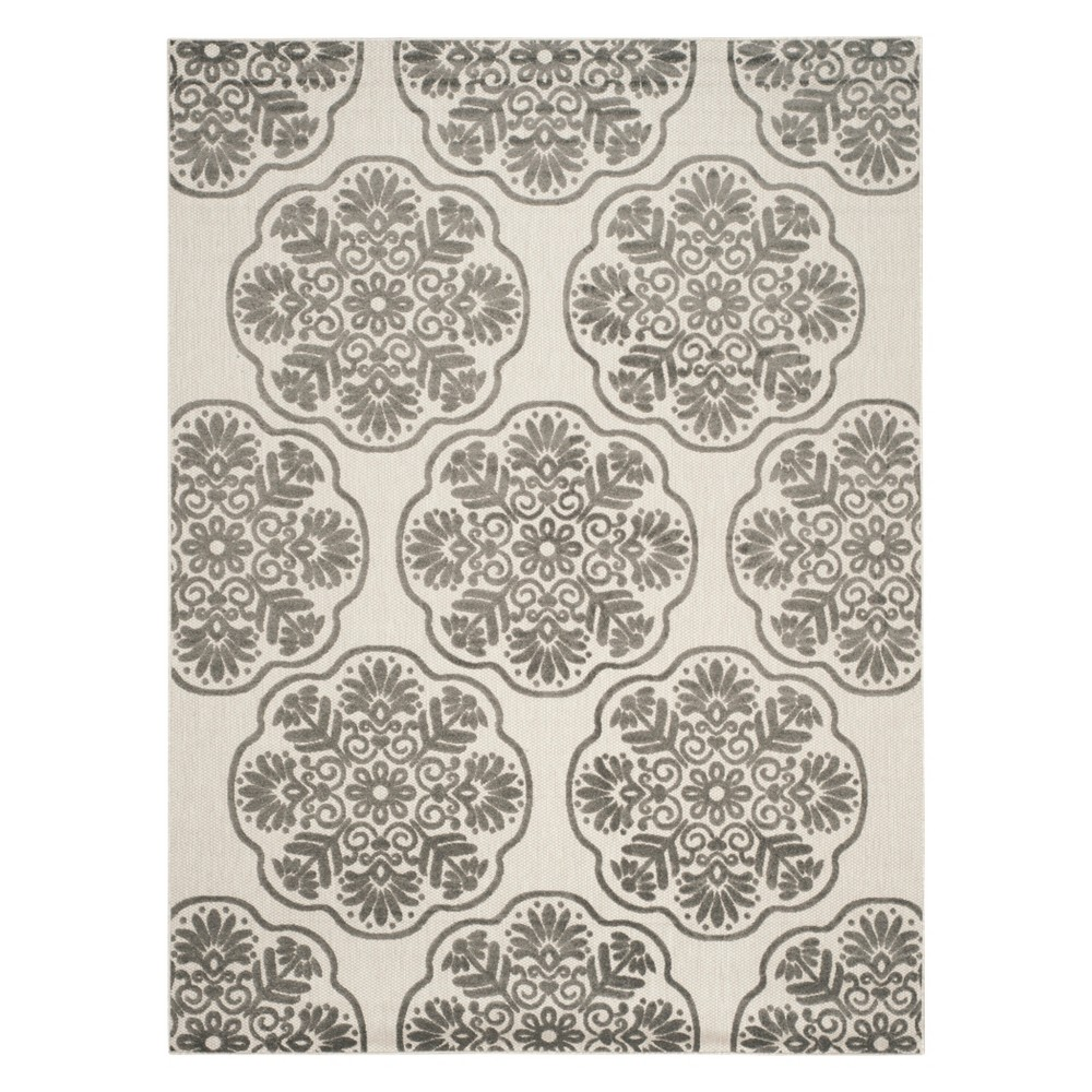 Melania 8'X11'2 Indoor/Outdoor Rug - Cream (Ivory) - Safavieh