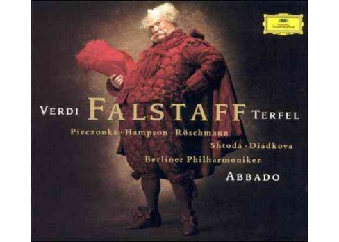 Terfel & abbado & berlin - Verdi:Falstaff (CD) - image 1 of 2