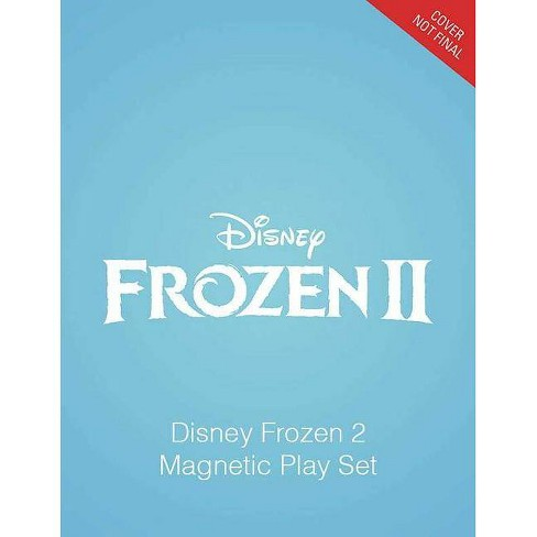 Disney Frozen 2 Magnetic Play Set -  HAR/TOY (Magnetic Playset) by Marilyn Easton (Hardcover) - image 1 of 1