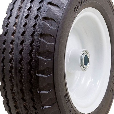 Dia. WESTWARD 10G170 Wheelbarrow Tire,Knobby,14-1//2 In
