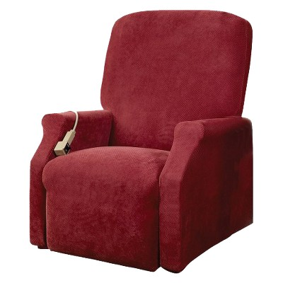 Stretch Pique Lift Recliner Slipcover - Sure Fit