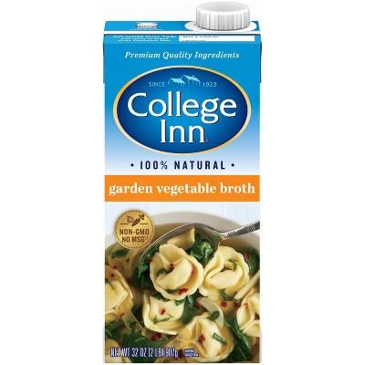 College Inn Garden Vegetable Broth 32oz