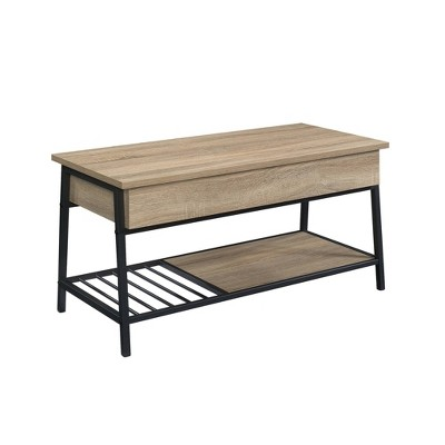 North Avenue Lift Top Coffee Table Charter Brown - Sauder