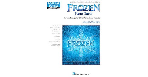 Frozen Piano Duets : Seven Songs for One Piano, Four Hands: Late Elementary / Early Intermediate Piano - image 1 of 1