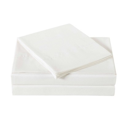 Queen Microfiber Everyday Sheet Set Ivory - Truly Soft
