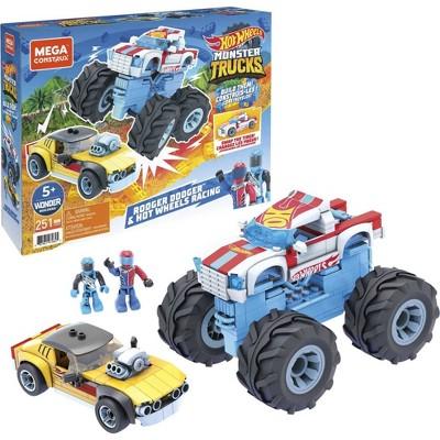 Mega Construx Hot Wheels Rodger Dodger & Hot Wheels Racing Vehicle