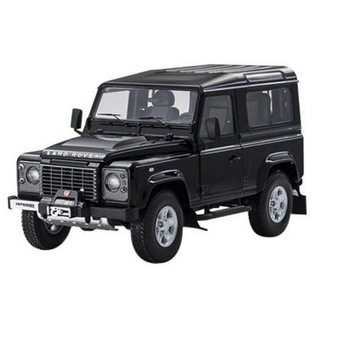 1984 Land Rover Defender 90 Black 1 18 Cast Car Model By Kyosho