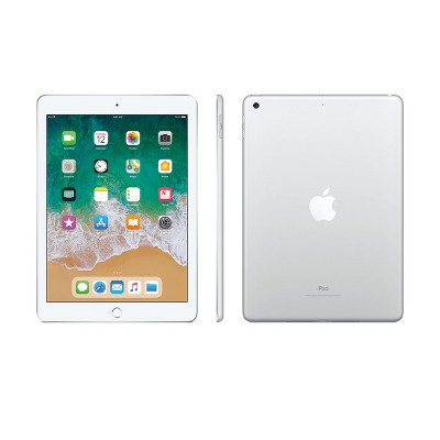 Apple iPad 9.7  32GB Wi-Fi Only (2018 Model, 6th Generation, MR7G2LL/A)- Silver