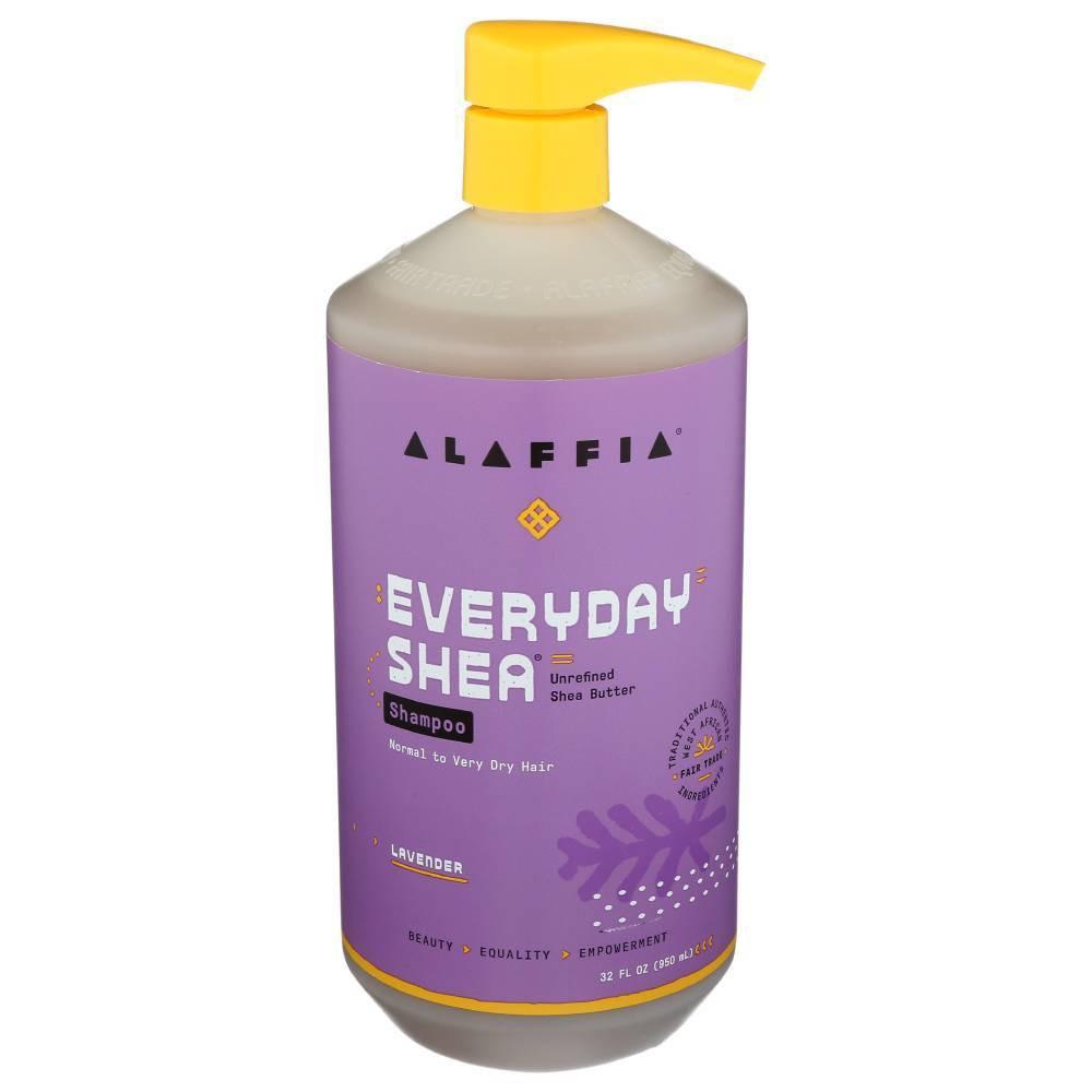 Image of Alaffia Shea Unrefined Shea Butter Lavender Shampoo - 32 fl oz