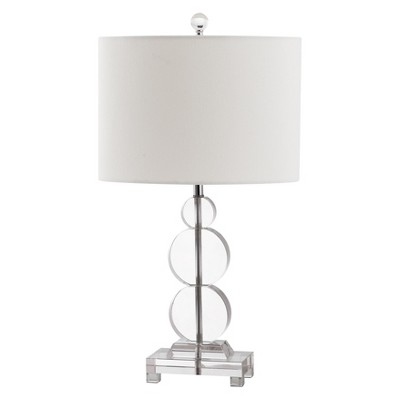 Bon Stacked Clear Bubble Table Lamp   Safavieh®