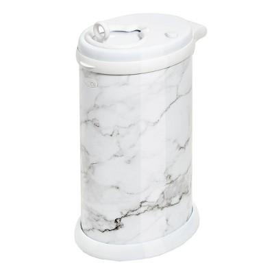 Ubbi Steel Diaper Pail Marble
