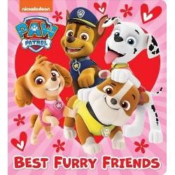 Best Furry Friends (Paw Patrol) - (Board_book)