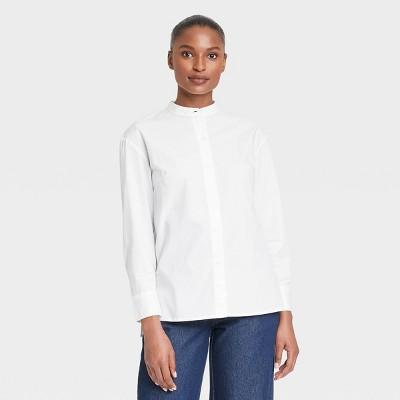 Women's Long Sleeve Button-Down Shirt - Who What Wear™