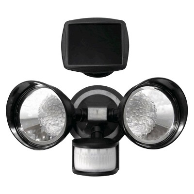 Creative Motion Activated Solar LED Light - Black (5 x6.25 )