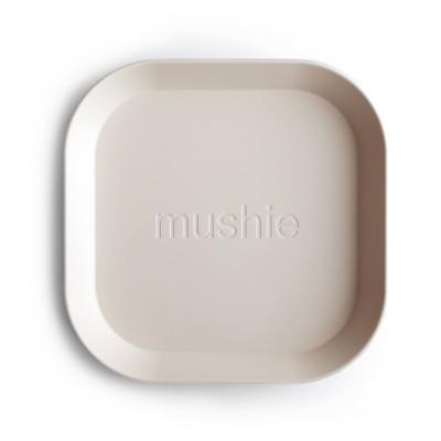 Mushie Square Dinner Plate