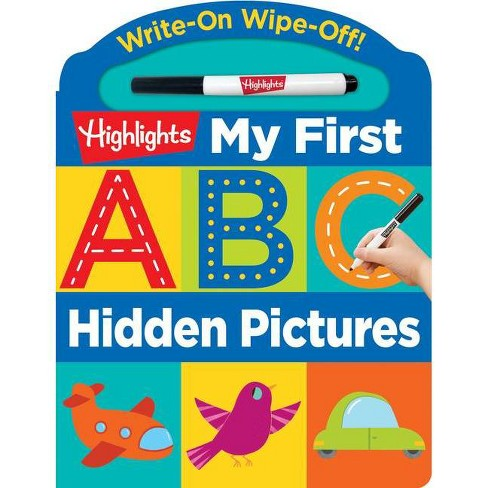 Write-On Wipe-Off My First ABC Hidden Pictures - (Board_book) - image 1 of 1