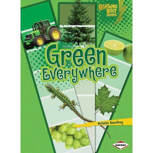 Green Everywhere - (Lightning Bolt Books: Colors Everywhere (Paperback)) by  Kristin Sterling