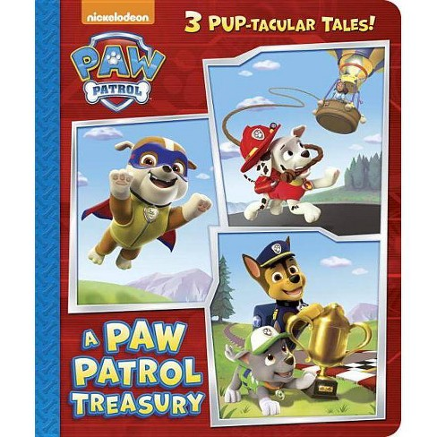 A Paw Patrol Treasury (Paw Patrol) - (Padded Board Book) (Board Book) - image 1 of 1