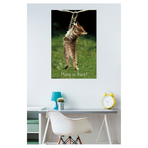 Image result for hang in there kitten poster on wall