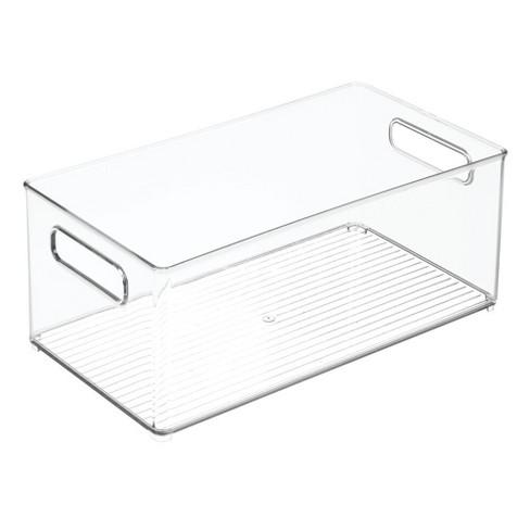 mDesign Plastic Kitchen Food Storage Organizer Bin - Clear - image 1 of 4