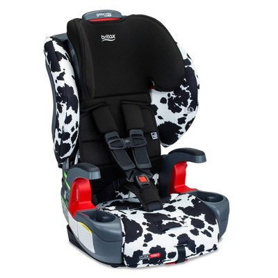 Britax Grow with You ClickTight Booster Car Seat - Cowmooflage SafeWash