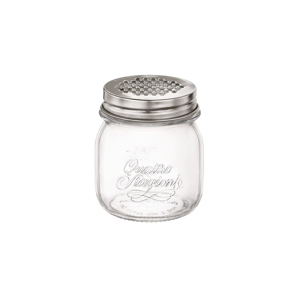 Image of Bormioli Rocco 8.5oz Grater Jar, Clear