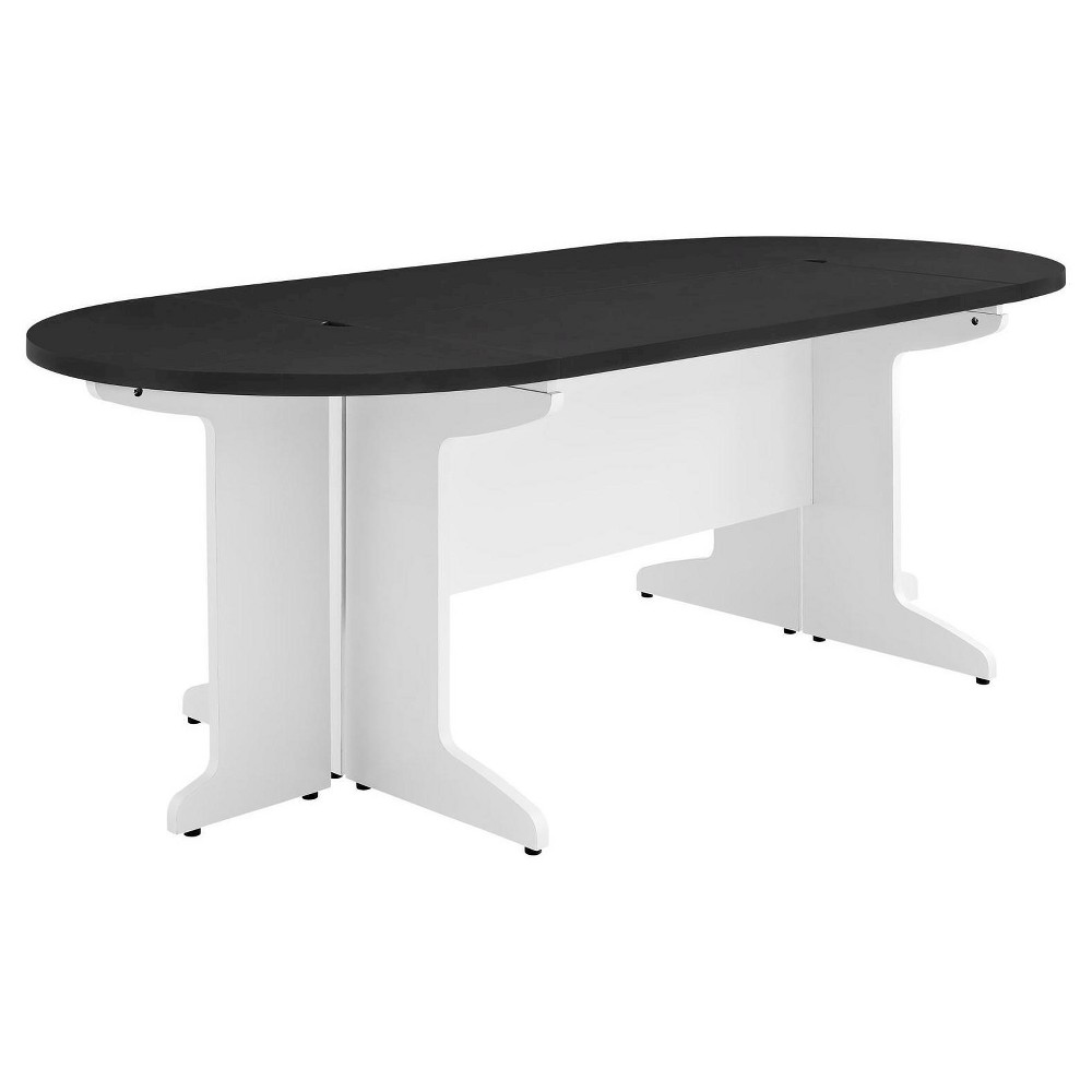 Pursuit Small Conference Table Bundle - White/Gray - Altra