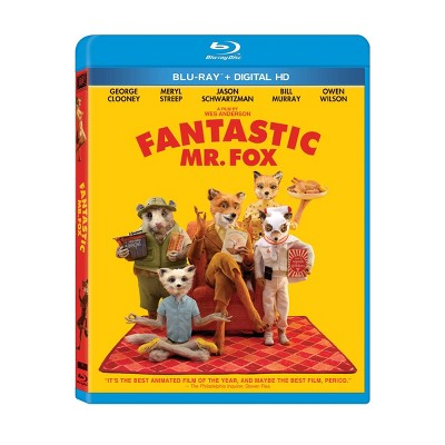 Fantastic Mr. Fox (Blu-ray + Digital)