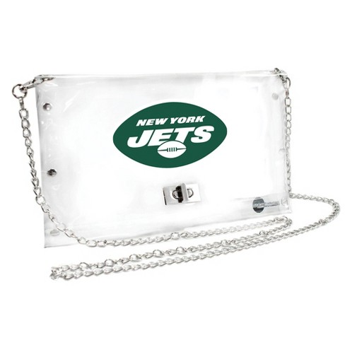 NFL New York Jets Clear Envelope Purse - image 1 of 1