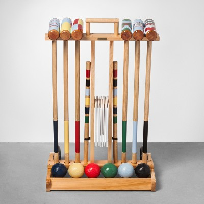 Croquet Set with Cart - 6 Players - Hearth & Hand™ with Magnolia