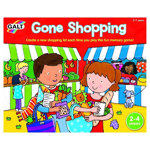 Gone Shopping Memory Game - image 1 of 4
