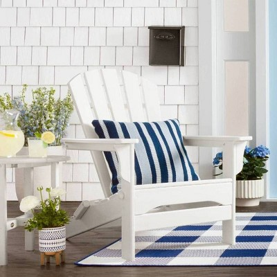White and Blue Patio Décor Collection