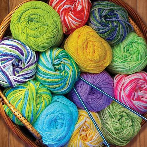 Springbok Colorful Yarn Jigsaw Puzzle 500pc - image 1 of 3
