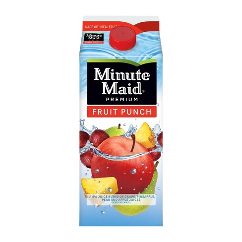 Minute Maid Fruit Punch - 59 fl oz - image 1 of 3