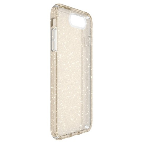 online store a2e70 eefc1 Speck iPhone 8 Plus/7 Plus/6s Plus/6 Plus Case Presidio - Gold Glitter