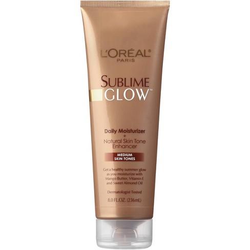 L'Oreal Paris Sublime Medium Glow Skin Tanning Oil & Lotion - 8 fl oz - image 1 of 3