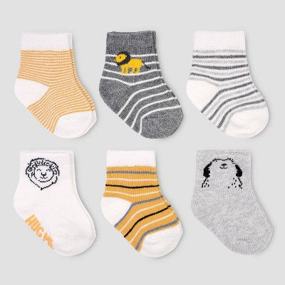 Baby Boys' 6pk Socks - Just One You® made by carter's 3-12M