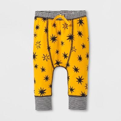 Baby Boys' Leggings - Cat & Jack™ Yellow 0-3M